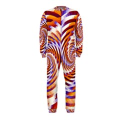 Woven Colorful Waves Onepiece Jumpsuit (kids)