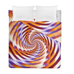 Woven Colorful Waves Duvet Cover Double Side (full/ Double Size)