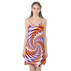 Woven Colorful Waves Camis Nightgown