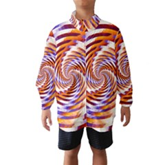 Woven Colorful Waves Wind Breaker (kids)
