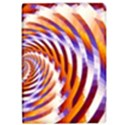 Woven Colorful Waves Apple iPad Pro 12.9   Flip Case View1