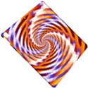 Woven Colorful Waves Apple iPad Pro 10.5   Hardshell Case View4