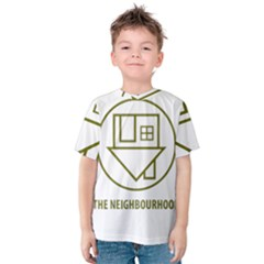 The Neighbourhood Logo Kids  Cotton Tee