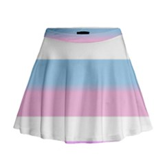 Big Mini Flare Skirt