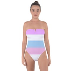 Big Tie Back One Piece Swimsuit