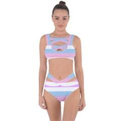 Big Bandaged Up Bikini Set