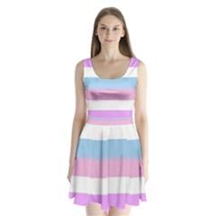 Big Split Back Mini Dress