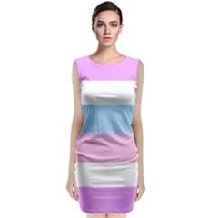 Big Sleeveless Velvet Midi Dress