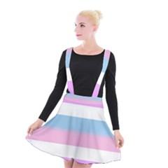 Big Suspender Skater Skirt