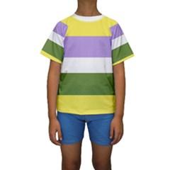 Bin Kids  Short Sleeve Swimwear