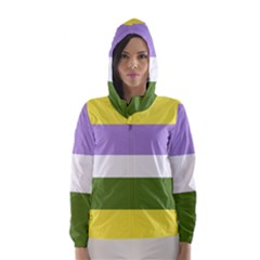 Bin Hooded Wind Breaker (women)
