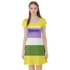 Bin Short Sleeve Skater Dress