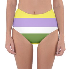 Bin Reversible High Waist Bikini Bottoms