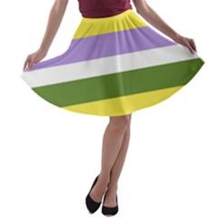 Bin A Line Skater Skirt