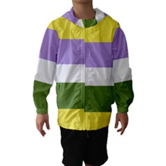 Bin Hooded Wind Breaker (kids)