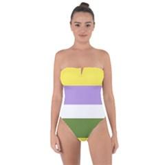 Bin Tie Back One Piece Swimsuit