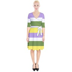 Bin Wrap Up Cocktail Dress