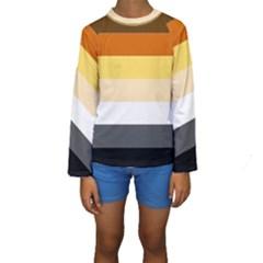 Brownz Kids  Long Sleeve Swimwear