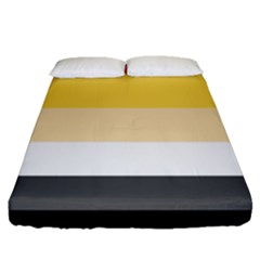Brownz Fitted Sheet (queen Size)
