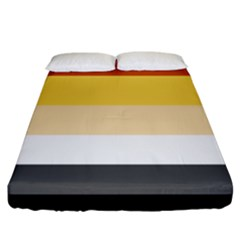 Brownz Fitted Sheet (king Size)