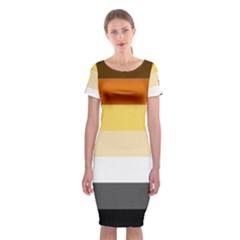 Brownz Classic Short Sleeve Midi Dress