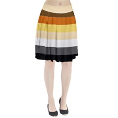 Brownz Pleated Skirt