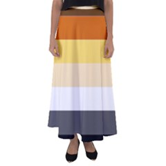 Brownz Flared Maxi Skirt