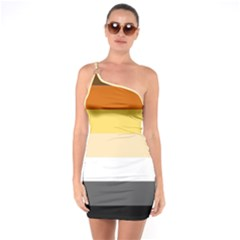 Brownz One Soulder Bodycon Dress