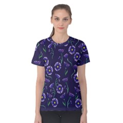 Floral Women s Cotton Tee