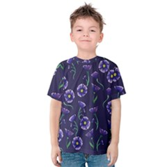 Floral Kids  Cotton Tee