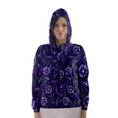 Floral Hooded Wind Breaker (women)