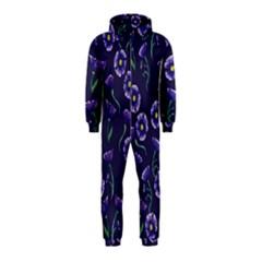 Floral Hooded Jumpsuit (kids)