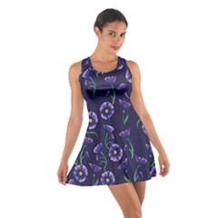 Floral Cotton Racerback Dress