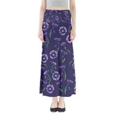 Floral Full Length Maxi Skirt