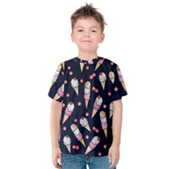 Ice Cream Lover Kids  Cotton Tee