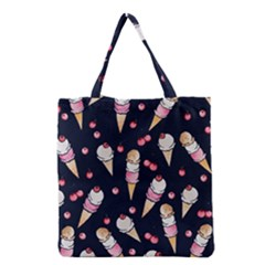 Ice Cream Lover Grocery Tote Bag