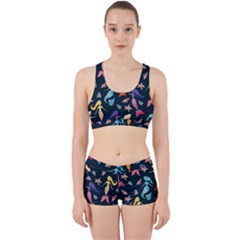 Mermaids Work It Out Sports Bra Set