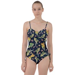 Reverse Mermaids Sweetheart Tankini Set