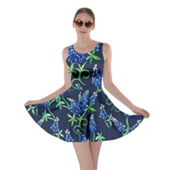 Bluebonnets Skater Dress