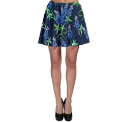 Bluebonnets Skater Skirt