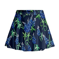 Bluebonnets Mini Flare Skirt