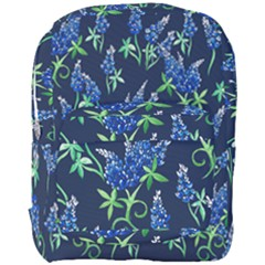 Bluebonnets Full Print Backpack