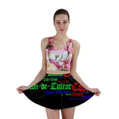 Coton De Tulear Mashup Mini Skirt