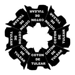 Coton De Tulear Name Silo Hook Handle Umbrellas (small)