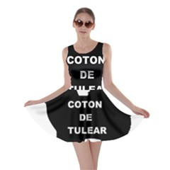 Coton De Tulear Name Silo Skater Dress