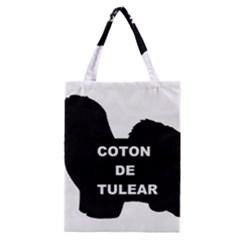 Coton De Tulear Name Silo Classic Tote Bag