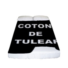 Coton De Tulear Name Silo Fitted Sheet (full/ Double Size)