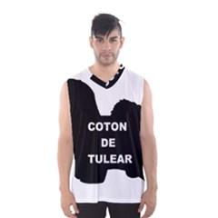 Coton De Tulear Name Silo Men s Basketball Tank Top