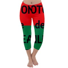 Coton Name Flag Madagascar Capri Winter Leggings