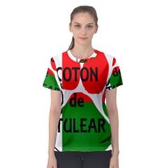 Coton Name Madagascar Paw Flag Women s Sport Mesh Tee